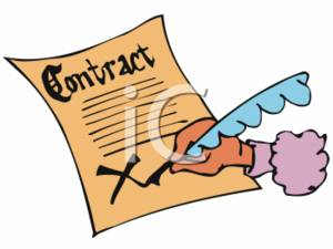 0511-0702-2813-1909_Person_Signing_a_Contract_clipart_image